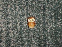 Vintage Josef Originals Sleepy Owl Figurine, Made Japan, Original Sticker, GUC #JosefOriginals