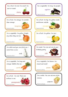 milk Prepared by Ahmet I'm a fruit. lemon Prepared by Berke I'm a fruit. Food Riddles, Animal Riddles, Jokes And Riddles, Funny Riddles, English Fun, English Lessons, Learn English, Toddler Learning Activities, Vocabulary Activities