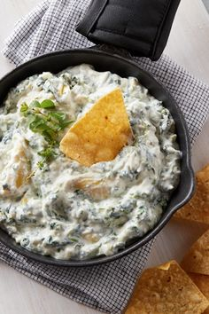 Daisy Cottage Cheese, Cottage Cheese Recipes, Cheese Dip Recipes, Cheese Appetizers, Appetizer Recipes, Spinach Cheese Dip, Spinach Artichoke Dip, Homemade Chip Dip, Daisy Brand