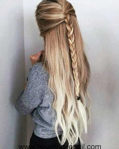 Hair Styles For School Fast, easy hairstyles for long, thick hair Hair Styles For School Fast, easy hairstyles for long, thick hair Easy Party Hairstyles, Cute Simple Hairstyles, Easy Hairstyles For Long Hair, Cool Hairstyles, Layered Hairstyles, Hairstyle Ideas, Beehive Hairstyle, Feathered Hairstyles, Fashion Hairstyles