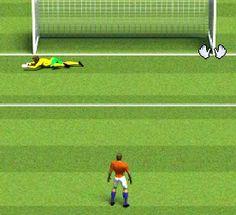 Penaltı Şampiyonu oyunu ile penaltıları sevenler için güzel ve eğlenceli bir oyun sizlerle. Penaltılara başlamak için oyun açılınca ülke seçimi yapın ve oyun ekranı gelince başlayabilirsiniz.