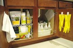 Under the Kitchen Sink.  I just love these products.  If you would like them...ask me how!