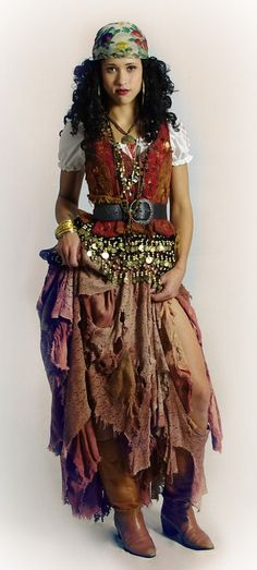 Halloween on Pinterest | Gypsy Costume, Women's Pirate Costumes ...