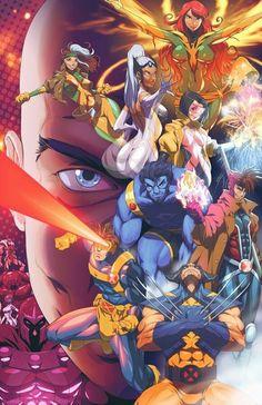 Manga dos X-Men Marvel Comics Comic Book Characters, Comic Book Heroes, Marvel Characters, Comic Character, Comic Books Art, Comic Art, Book Art, Hq Marvel, Marvel Comics Art
