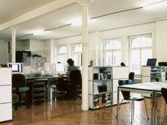 USM Haller Credenza as Office Storage