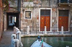 Gates in Venice, Italy