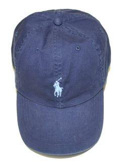 Polo Ralph Lauren Men Pony Logo Adjustable Hat Cap $29.99