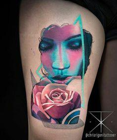 e2ef6bda4 Mind Blown, Tattoo Artists, Lush, Watercolor Tattoo, Surrealism, Body Art,