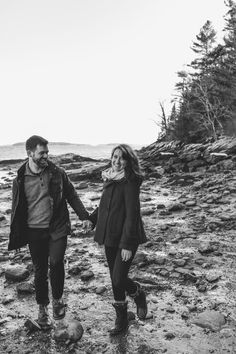 Betsie and Keith Engagement  Photo By The Maine Tinker Studio