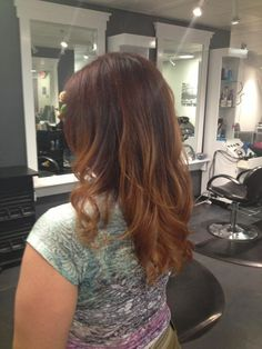 This is actually my head. No joke. That's me.  One of my favorite hair looks I've had in the past few years. Pinning so I can re-do it again at a later date.   Red ombré at Salon Verranno....thank you Schwarzkopf