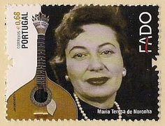 SFAAC - História Postal de Coimbra Maria Teresa de Noronha foi a primeira mulher a cantar o fado de Coimbra (o Fado Hilário)  emissão: Fado, 2011/10/03-