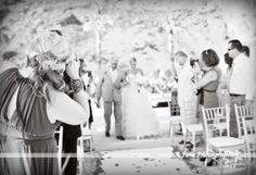 Wedding Ceremony in Cabo San Lucas, Lands End Grand Solmar Resort. Signature Weddings with Julie Kemerling www.afinephotographer.com 303-768-0381