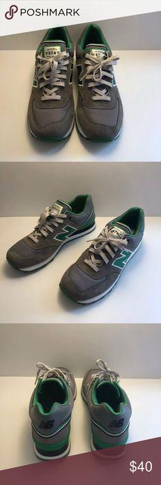 best website f18de bbdde New Balance 574 (Grey   Green   Black) Item  New Balance 574 (