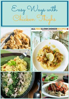 Whether you're craving a simple chicken thighs recipe, or one that takes a little more effort, we've got plenty to choose from in this collection. From chicken stews, to pulled chicken to chicken casserole, each of these tasty recipes will put your chicken thighs to good use.