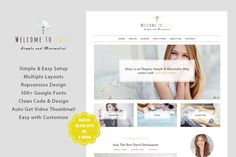 DaiSy - A Responsive WordPress Blog on @creativework247