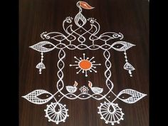 simple kolam designs with dots - easy and simple rangoli designs - muggulu designs Indian Rangoli Designs, Rangoli Designs Latest, Rangoli Designs Flower, Rangoli Border Designs, Rangoli Patterns, Rangoli Ideas, Rangoli Designs With Dots, Rangoli Designs Images, Beautiful Rangoli Designs
