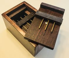 This is a remake of the excellent puzzle box produced by Fathomlis shown here. My version has different dimensions and building techniques and is also fully...