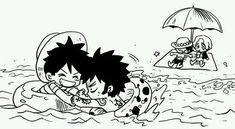 ASL brothers and Trafalgar D. Water Law Monkey D. Luffy, Portgas D. Ace, and Sabo One piece One Piece Anime, One Piece Comic, One Piece Fanart, Anime One, Sabo One Piece, One Piece Ship, Manga Anime, Fanarts Anime, Zoro