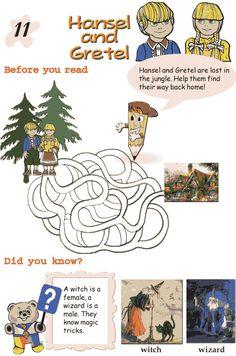 Grade 2 Reading Lesson 11 Fairy Tales – Hansel And Gretel