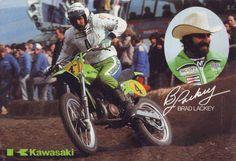 Brad Lackey Team Kawasaki