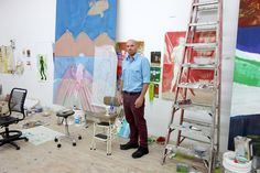 "Peter Doig Readies Paintings for a Retrospective in Scotland - NYTimes.comhis ...his work is about ""joining bits of memory together"" and not strictly re-creating a scene. ""If just outside your door you're seeing what you're painting, maybe there's too much information."" His method relies heavily on removing paint, as well as on chance and experimentation. ""By going backward, you see something you could have never achieved by going forward."""