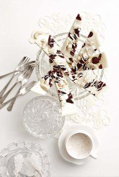 White Chocolate Cranberry Bars