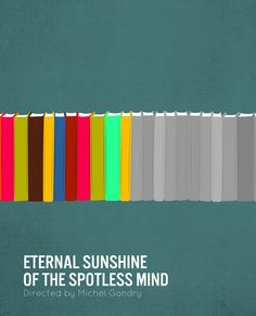 Minimalist movie poster for Eternal Sunshine of the Spotless Mind