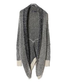 Stripe Knitted Pod Cardigan