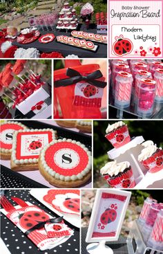 Lady Bug Baby Shower - Perfect Spring Baby Shower Idea!