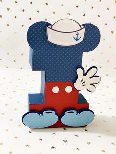 Sailor Mickey 3D numbers! #mickeymouseparty #sailor #mickeymousebirthday