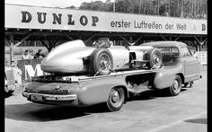 MERCEDES W 196 TEST GERMANY 1955