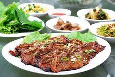 LA Galbi (Korean BBQ Short Ribs) Best Beef Recipes, Roast Turkey Recipes, Rib Recipes, Asian Recipes, Cooking Recipes, Favorite Recipes, Asian Foods, Yummy Recipes, Yummy Food
