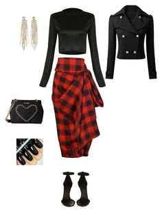 """""""Skirt"""" by princesaurbana ❤ liked on Polyvore featuring Isabel Marant, Charlotte Russe, Love Moschino, women's clothing, women's fashion, women, female, woman, misses and juniors"""