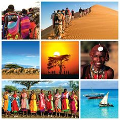 Experience the vibrant colours of Africa