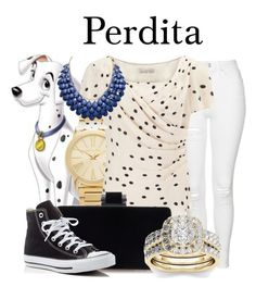 """Perdita"" by megan-vanwinkle ❤ liked on Polyvore featuring Michael Kors, Topshop, Jacques Vert, Modern Bride and Converse"