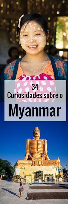 Provavelmente já sabem que o Myanmar se chamou outrora Birmânia, que esteve sob uma ditadura militar até há pouco tempo e que uma birmanesa, a Senhora Aung San Suu Kyi, recebeu o Prémio Nobel da Paz, em 1991, pela sua luta contra o regime opressor. Há, porém, curiosidades que só se podem conhecer no próprio país. Fomos registando algumas durante os 19 dias que aí passámos, mas outras perderam-se, porque as mãos não conseguem acompanhar os olhos em viagem.
