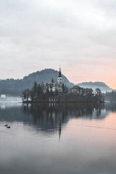 Lake Bled, Slovenia, Assumption of Mary Pilgrimage Church