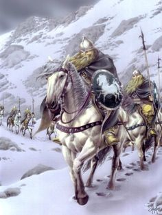 Rohirram by Stefano Baldo Tolkien Books, Jrr Tolkien, Gandalf, Legolas, Das Silmarillion, The Two Towers, Fantasy Illustration, Medieval Fantasy, Horse Art