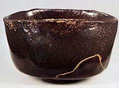 本阿弥光悦(1558-1637)作 黒楽茶碗 銘「楽天」(個人蔵)