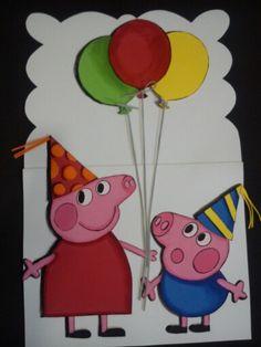 Ideas para hacer tarjetas los ni os on pinterest shaped - Ideas para hacer tarjetas de cumpleanos ...