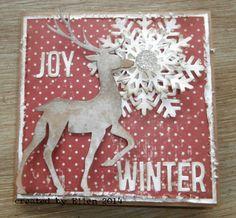 Ellen: Christmas Card - Prancing Deer