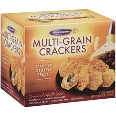 Crunchmaster Multi-Grain Crackers Gluten Free these are the best GF crackers! Love them