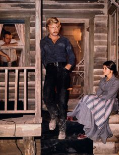 """""""Butch Cassidy and the Sundance Kid"""", 1969: Paul Newman, Robert Redford and Katherine Ross ~ Photo by Alamy"""