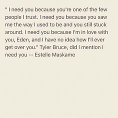 'DIMILY'-series ~ Estelle Maskame I Love You Quotes, Love Yourself Quotes, Dark Love, Im In Love, Quote Wall, I Need You, Life Inspiration, Book Series, Beautiful Words