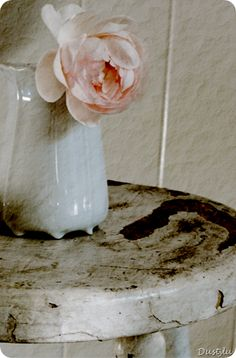 Stool- Shabby Chic