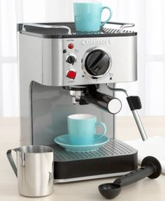 Cuisinart Espresso maker? Yes, please!