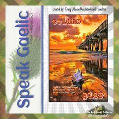 Scottish Words, Scottish Gaelic, Gaelic Words, Word Of The Day, Celtic, Scotland, Learning, Scotch, Languages
