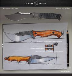 my vision Fox knife : )