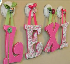 diy letters for baby room howtoviews co