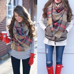❤️SUPER SALE❤️Gorgeous Plaid Blanket Scarf Gorgeous Plaid Oversized Blanket Scarf ❤️! Must have for fall and winter! Accessories Scarves & Wraps